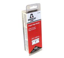 Лезвия 66-0089 (GT 140) American Line для чистки стекла 100 шт