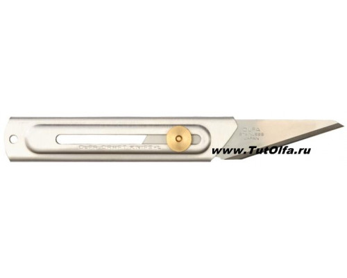 Нож OL-CK-2 хозяйственный из нерж. стали, 20мм