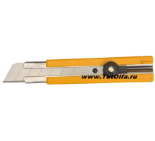 Нож OL-H-1 с резиновыми накладками, 25мм