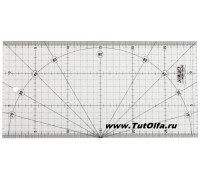 Линейка OL-MQR-15x30 для пэчворка, 150х300мм