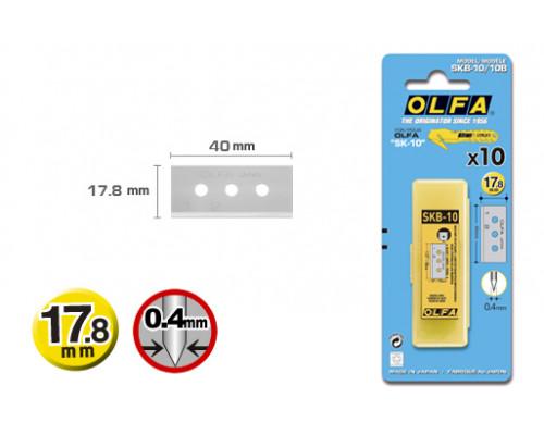 Лезвие OL-SKB-10/10B для OL-SK-10, 17,8 мм, 10 шт